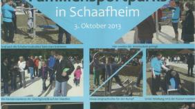 """""""Schaafheimer Zeitung"""" vom 10.10.2013"""